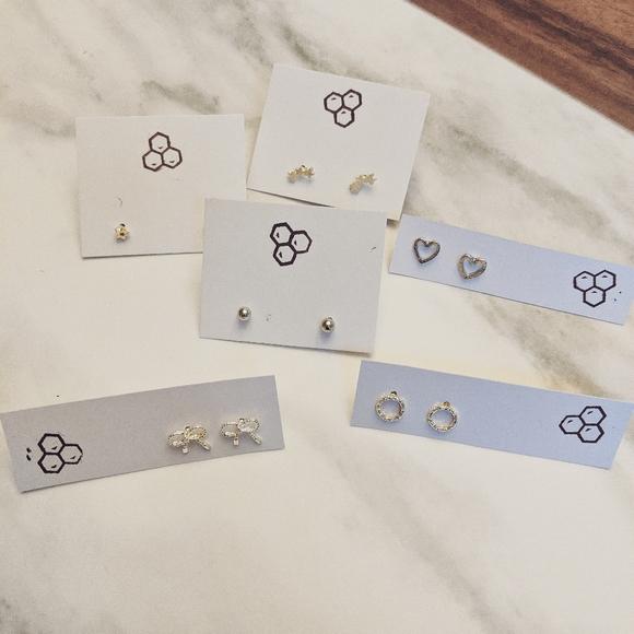 Silver Stud Earring Bundle | BOUTIQUE ✨